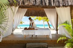 Beach Massage at Couples Negril