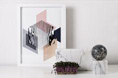 Image of Art print: material world 1