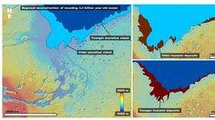 El estudio muestra las huellas de dos enormes tsunamis hace 3.400 millones de años en Marte