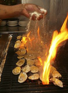 The World's Oyster Recipes: Charbroiled Oysters Recipe Oyster Recipes, Cajun Recipes, Fish Recipes, Seafood Recipes, Great Recipes, Cooking Recipes, Recipies, Cajun Food, Grilling Recipes