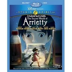 The Disney Studio should be commended for distributing The Secret World of Arrietty. The film has all the requirements for a family classic. Beautiful animation, fitting musical score, wonderful songs, and a sweet, universally compassionate story. This is what a Disney movie should be, not every picture needs to be made in Hollywood. #arrietty #movies #topmovies #film #entertainment $29.99