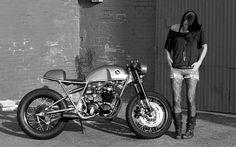 Sofi Tsingo and Her Honda CB550