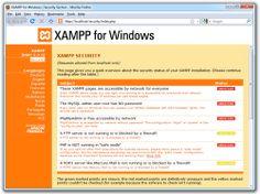 XAMMP   Desktop Server for web dev