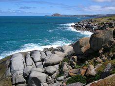 Granite Island and The Bluff, South Australia.