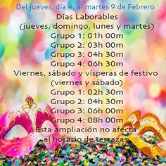 Sí, llega,  #Carnaval #donostia #disfrutando  #Ampliacion #Horario