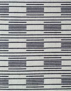 Wrekin Colourway: Face A - Blue-black with white accent Face B – White with blue-black accent pure new wool, nylon Swedish Weaving Patterns, Textile Patterns, Textile Design, Print Patterns, Weaving Designs, Weaving Projects, Weaving Textiles, Chair Fabric, Pattern Wallpaper