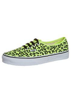 Neon green and black leopard print vans Cute Vans, Cute Shoes, Me Too Shoes, Vans Sneakers, Vans Shoes, Shoes Sandals, Vans Footwear, Green Sneakers, Leopard Print Vans