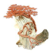Copper wire tree by minskis
