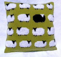 Materials – All Double Knitting yarn except for the White Sheep