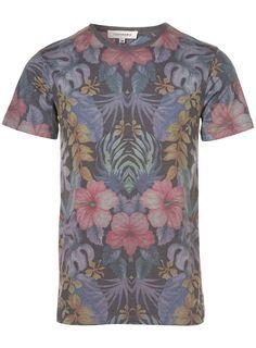 Taxonomy Hibiscus print t-shirt