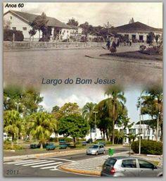 Redescobrindo o Alto Tietê: Antes e depois -  Largo do Bom Jesus ou Praça São ...
