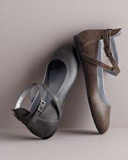 Petra Ankle-Wrap Ballet Flats