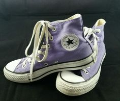 Converse chuck taylor shoes-sneakers  youth size 4 purple #Converse #CasualShoes