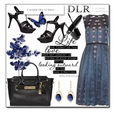 """DLR -Luxury Boutique"" by tanja133 ❤ liked on Polyvore featuring Yves Saint Laurent, Marc Jacobs, Coach and Garance Doré"