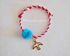 A personal favourite from my Etsy shop https://www.etsy.com/listing/500779638/martis-greek-bracelet-with-pom-pom-and