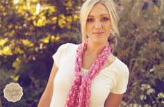GroopDealz | Pure Cotton Polka Dot Scarves with Free Shipping