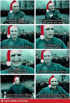 genius :)))))) #voldemort #christmas like...like ...a thousand times like :))))