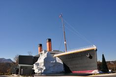Titanic Museum Attraction, Pigeon Forge