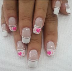 Crazy Nails, My Nails, Hello Nails, Beautiful Nail Art, Nail Arts, Nail Art Designs, Finger, Valentines, Beauty