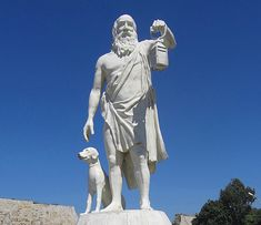Statue of Diogenes at Sinop, Turkey