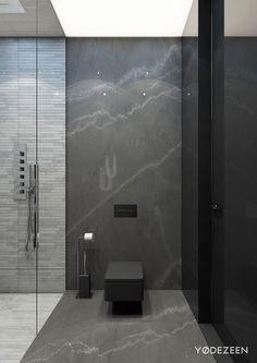 37 Trendy ideas for bathroom tub stone shower ideas Bathroom Spa, Bathroom Toilets, Bathroom Ideas, Mirror Bathroom, Bathroom Black, Bathroom Marble, Shower Mirror, Marble Bath, Spa Tub