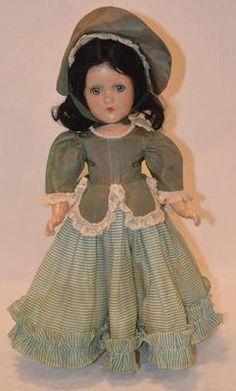 "Very Early Original 15"" Composition Madame Alexander ""Scarlett"" Doll c1937 1946 | eBay"