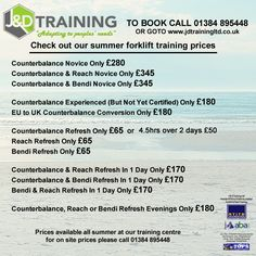 Check out our forklift training summer offers at http://ift.tt/1HvuLik #forklift #training #safety #jobsearch