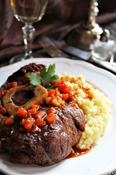 OSSO BUCO Favorite Recipes, Beef, Meals, Food, Italy, Meat, Meal, Essen, Ox