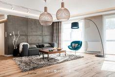 Znalezione obrazy dla zapytania jak połączyć pokój z jadalnią beton
