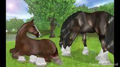 ~Star Stable Online~ Speedpaint: Two Horses