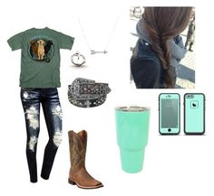 """Untitled #123"" by shelbydog1162 ❤ liked on Polyvore featuring Adina Reyter and Ariat"