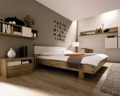 Chambre couleur lin taupe et blanc | Bedrooms and Interiors