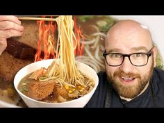 I have been seeing a LOT of great Ramen recipes lately, and EATIG A LOT of REALLY great Vegan Ramens! Now one thing about vegan ramen is that it is differen. Vegan Ramen, Vegan Soups, Vegan Vegetarian, Vegetarian Recipes, Vegan Food, Ramen Recipes, Asian Recipes, Ethnic Recipes, Marmite