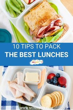 Simple tips to help you pack fresh lunches and stay prepared all week long. Lunch Recipes, Real Food Recipes, Keto Recipes, Dinner Recipes, Easy Lunch Boxes, Lunch Ideas, Kids Meals, Easy Meals, Healthy School Lunches