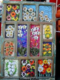 Solange piffer Mosaicos - SP-Brasil bright colors in glass Mosaic Wall, Mosaic Glass, Mosaic Tiles, Stained Glass, Glass Art, Tiling, Mosaic Crafts, Mosaic Projects, Mosaic Designs