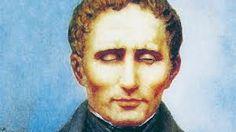 Louis Braille, profesor francés ciego, inventor del sistema braille que lleva su nombre para personas ciegas