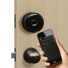 If you had installed the Danalock Bluetooth Smartlock, your phone would be your key. The free app you install on your phone (iOS and Android) uses Bluetooth® to talk to your deadbolt and convince it to unlock (or lock).