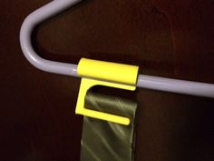 Tie hanger add on for clothes hanger. Tie Hanger, Coat Hanger, Clothes Hanger, 3d Prints, Tea Tree, 3d Design, Tie Clip, Fancy, Gifts