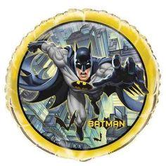 Batman Party Masks 16ct Bonus Batman Birthday Balloons 8ct Bundle!
