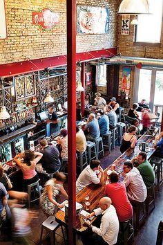 Hopleaf | Uptown Chicago. Gourmet pub. Love it.