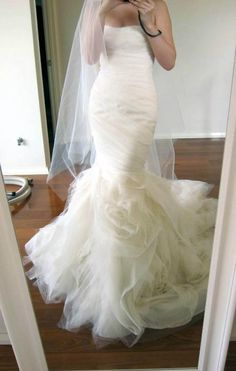 Vera Wang Gemma: buy this dress for a fraction of the salon price on PreOwnedWeddingDresses.com