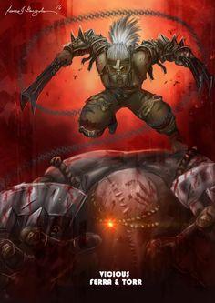 Mortal kombat X-Ferra and Torr -Vicious Variation by Grapiqkad on DeviantArt