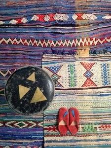 Image of Kilim Marocain indigo