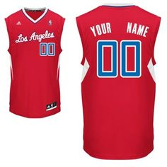 adidas Los Angeles Clippers Preschool Custom Replica Road Jersey: Mrs.Griffin <3
