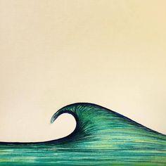 Another sketch detail #customwaves #surfart #art #illustration #surf #wave #sketch #peak #surfillustration #oceanart #ocean #waveporn