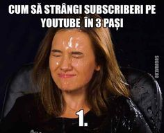 Cum sa strangi subscriberi pe YouTube in 3 pasi