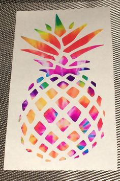 Tie Dye Vinyl Monograms Vine Circle Peace by ShayButterMonograms