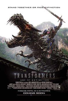 Transformers : l'âge de l'extinction Optimus Prime et Grimlock