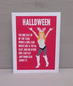mean girls movie quote halloween card cady nailed it when she defined halloween in girl world in mean girls its the one day out of the year - Halloween Quote Mean Girls