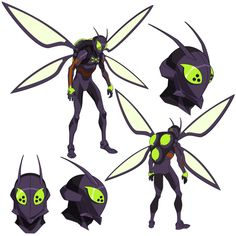 Killer Moth model sheet from Batman: Bad Blood. We changed the colors a bit for the final model but I still kinda dig this version. Character Model Sheet, Character Modeling, Comic Character, Character Concept, Concept Art, Superhero Characters, Anime Characters, Drawing Superheroes, Superhero Design